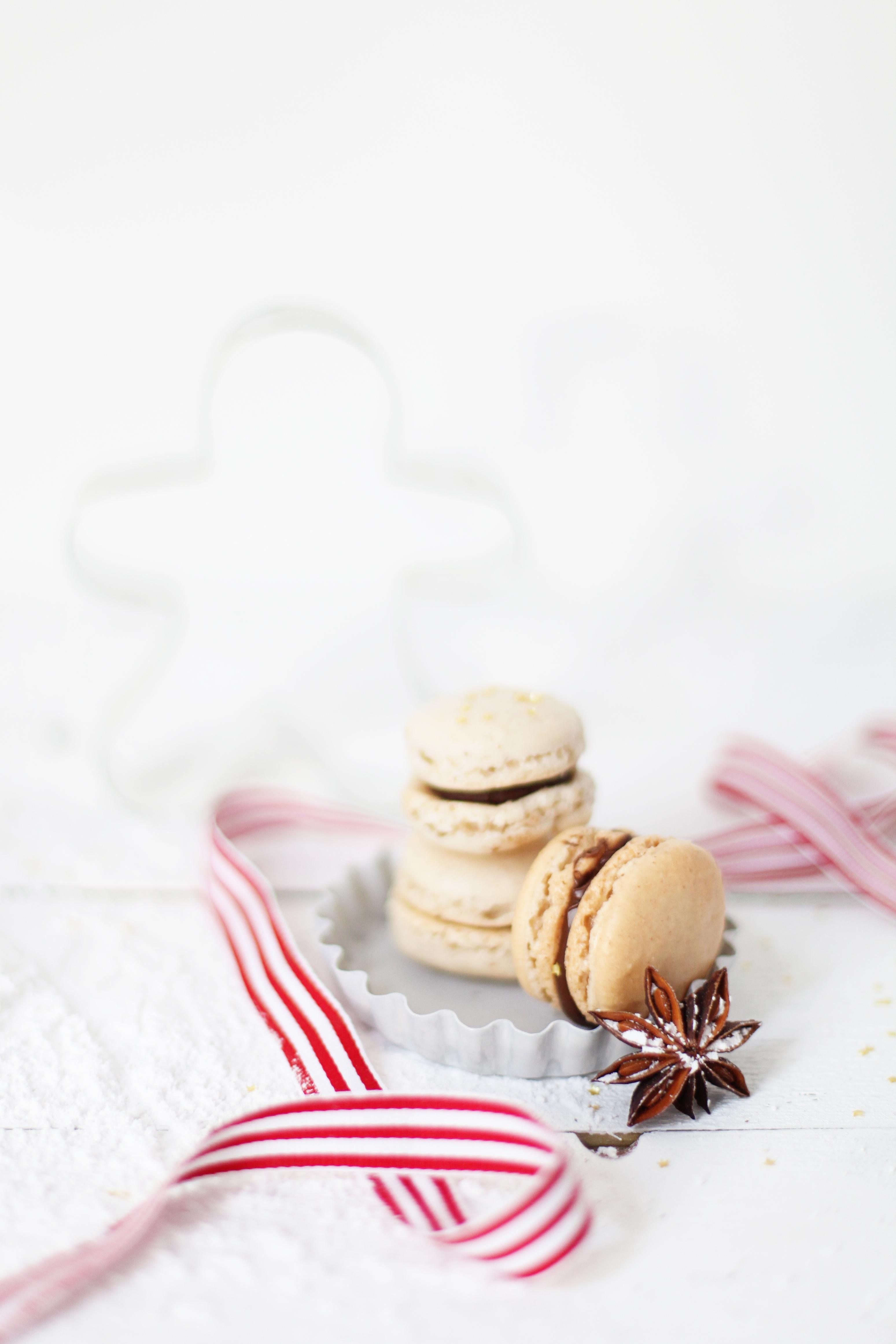 Rezept Macarons Lebkuchen Zucker Zimt und Liebe