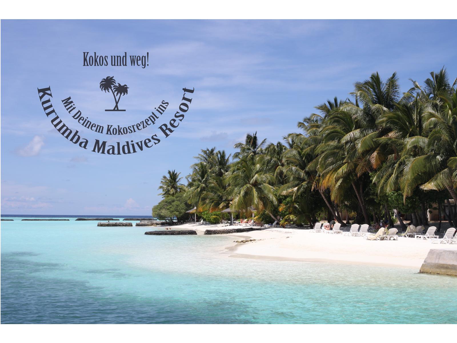 Kurumba Maldives Gewinnspiel zuckerzimtundliebe Kokosnuss Rezepte gesucht