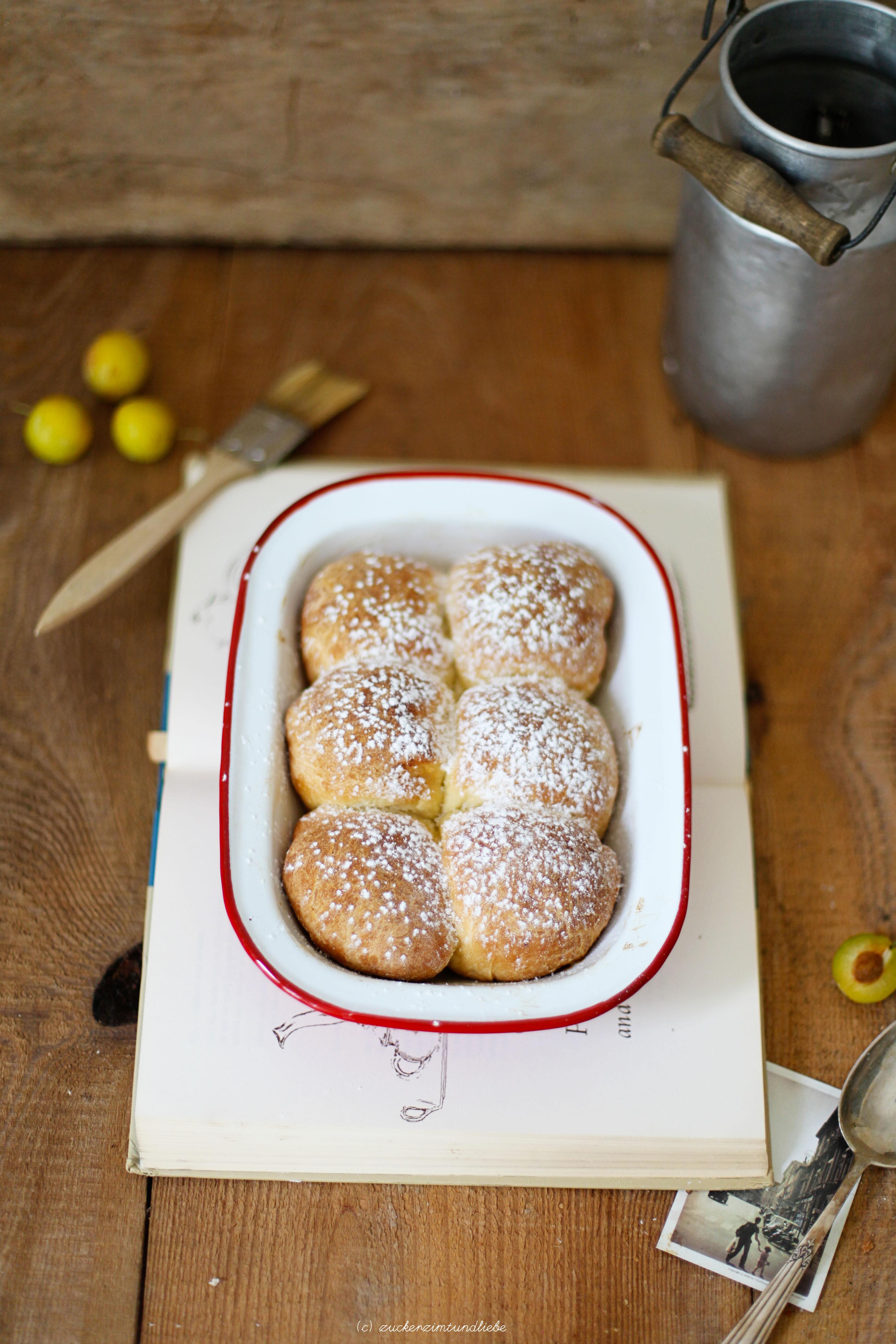 Zuckerzimtundliebe Mirabellen Buchteln Rezept Foodblog 1