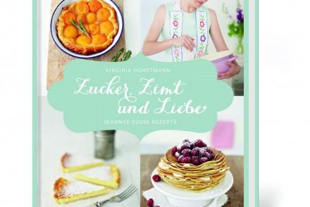 Zucker, Zimt und Liebe Kochbuch Backbuch Virginia Horstmann Hölker