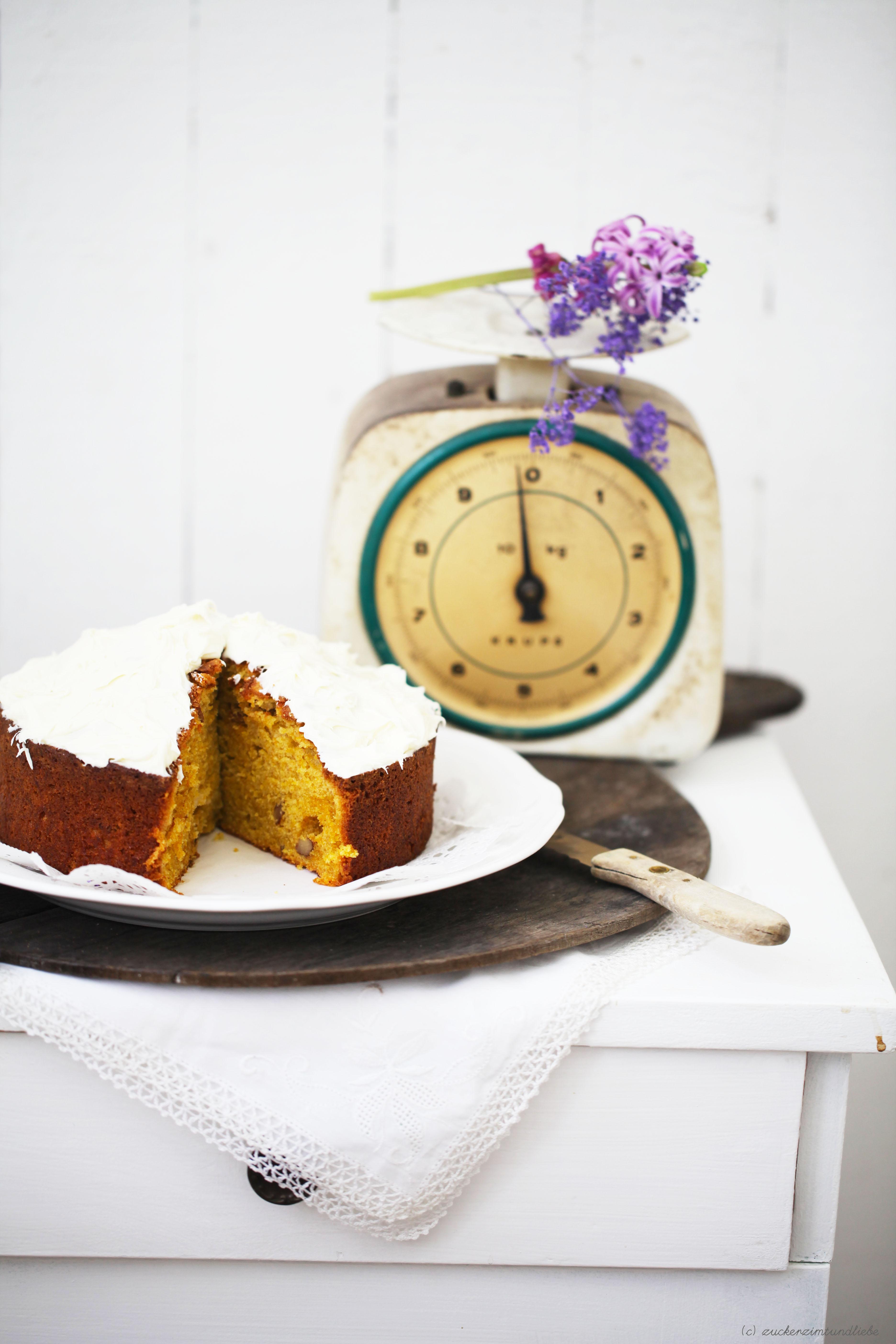Süsskartoffelkuchen Rezept Zuckerzimtundliebe Backen Springform Foodblog2