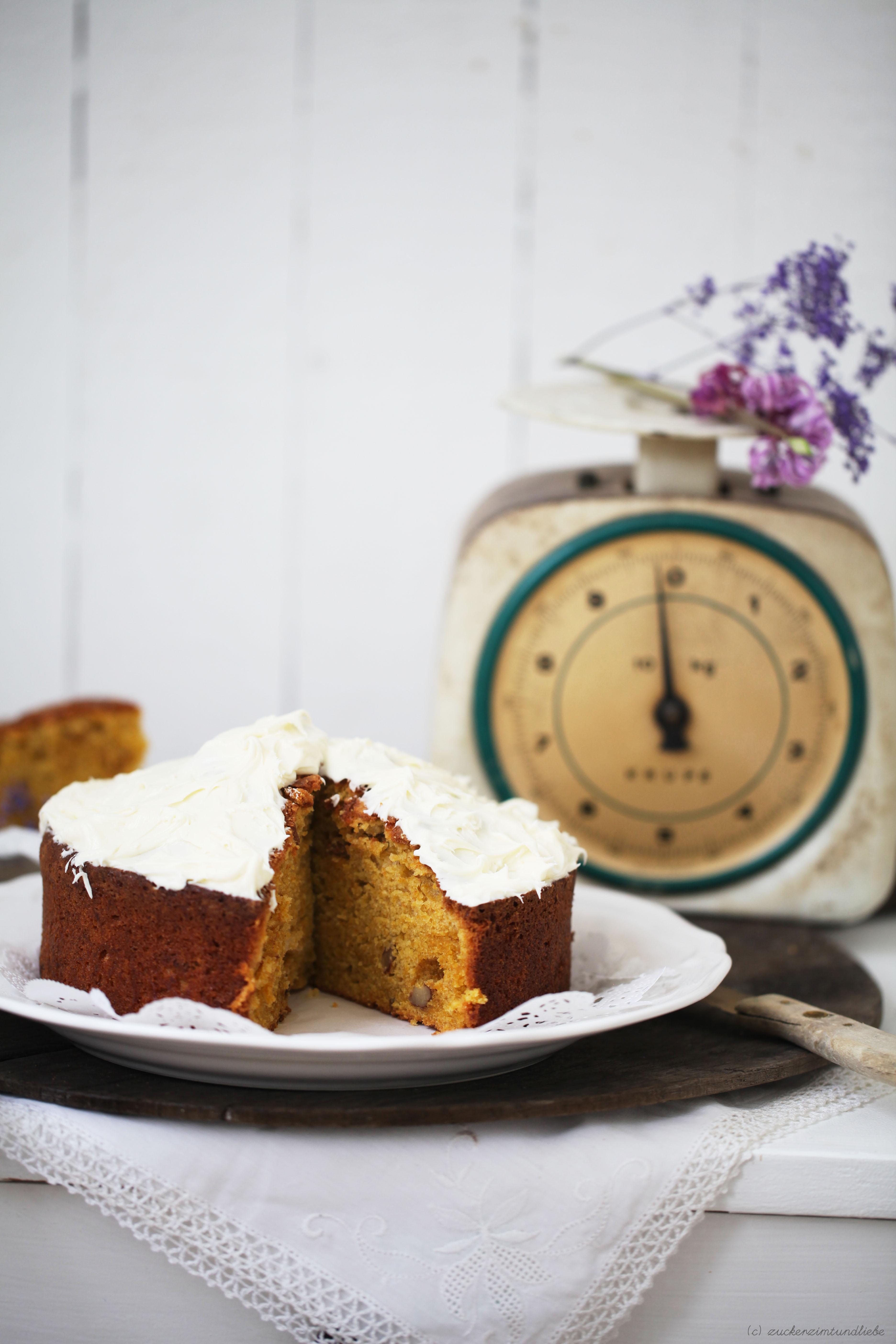 Süsskartoffelkuchen Rezept Zuckerzimtundliebe Backen Springform Foodblog8