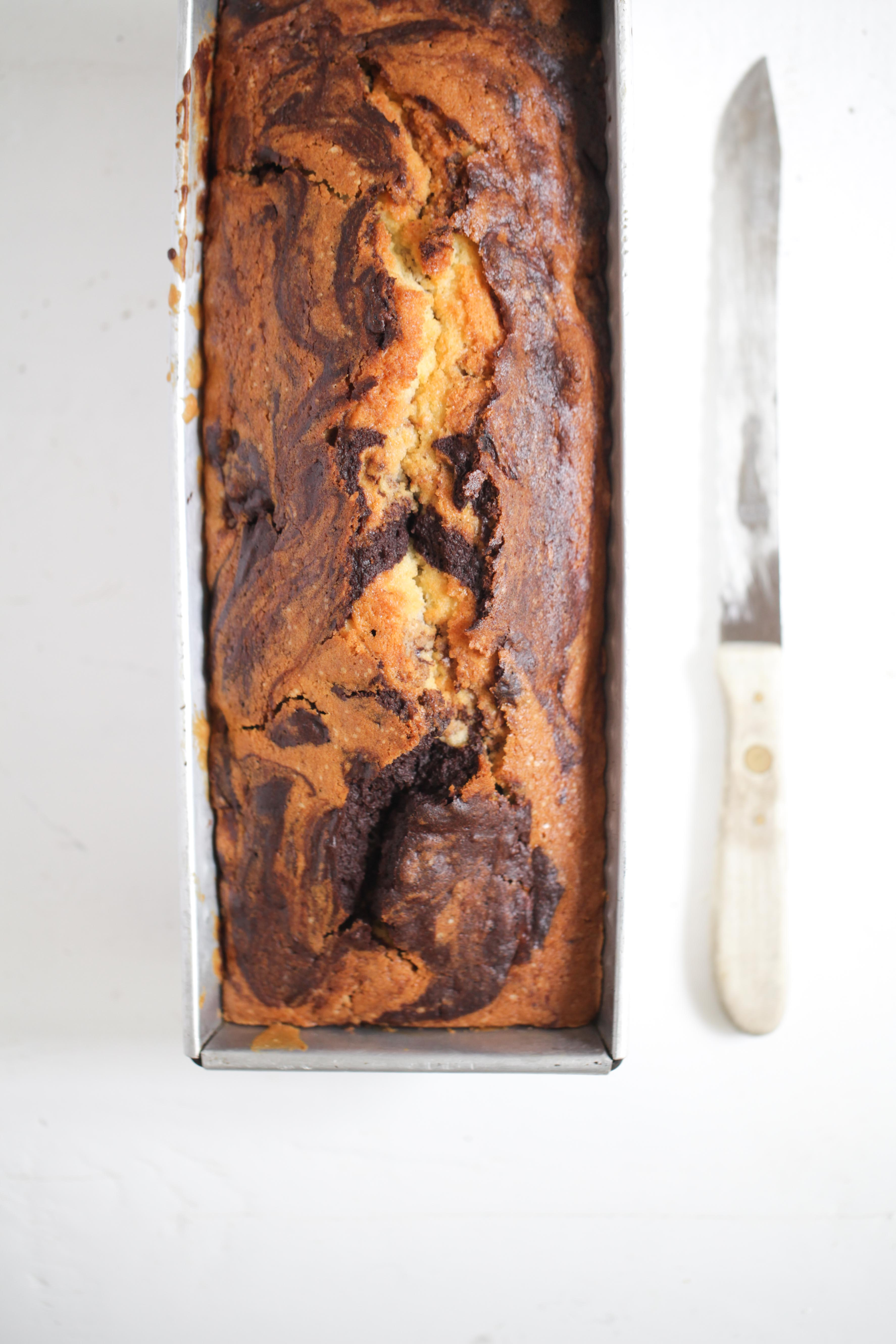 Zuckerzimtundliebe Rezept Rote Grütze Marmorkuchen Kirschgrütze Backrezept Kastenkuchen Kastenform Sandkuchen saftiges Kuchenrezept-2