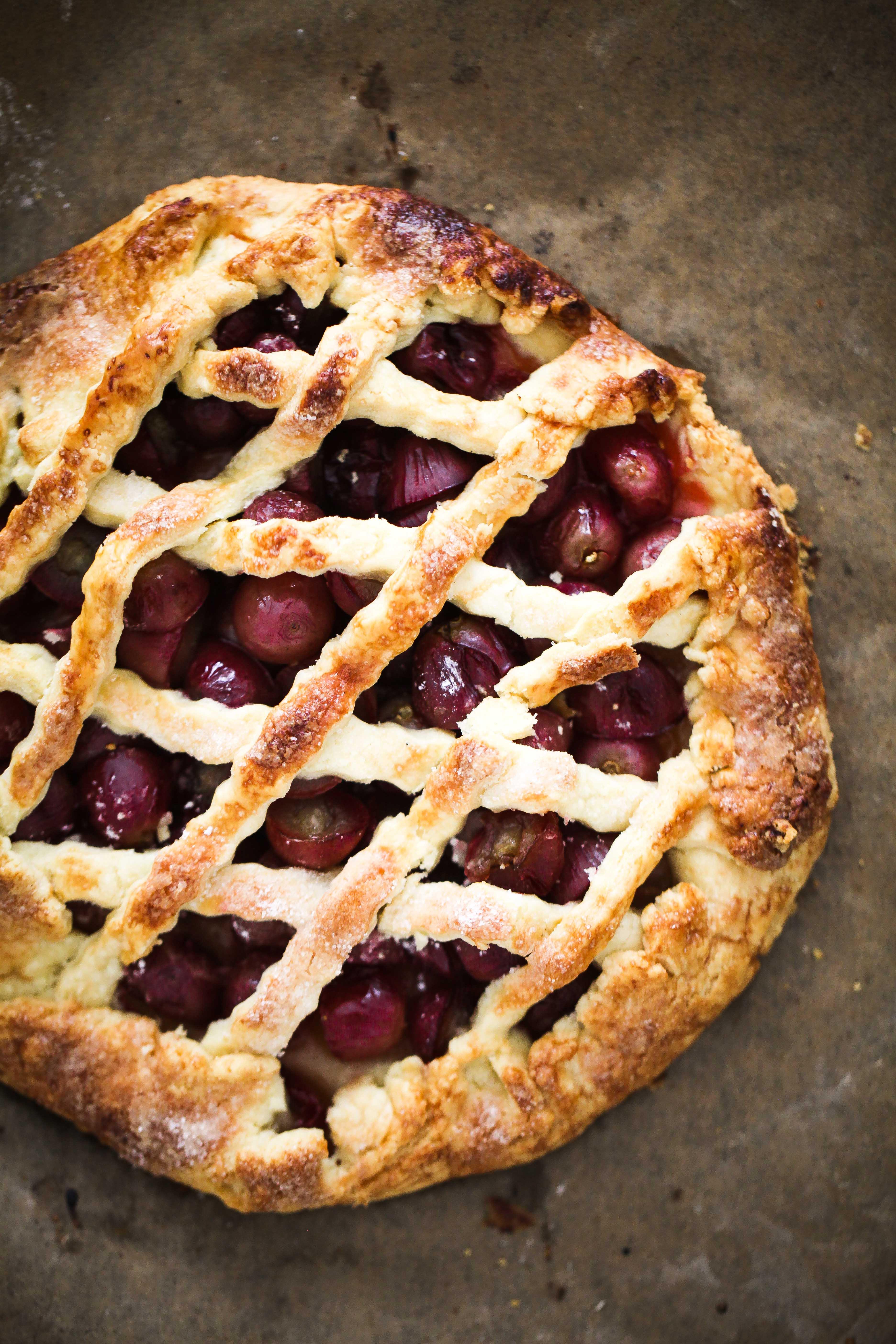 Zuckerzimtundliebe Backrezept Weintraubentarte Traubenrezept Weintraubenrezept EDEKA Fruchtkontor Saisonkalender grape tart recipe Herbstkuchen Herbsttart Traubentarte