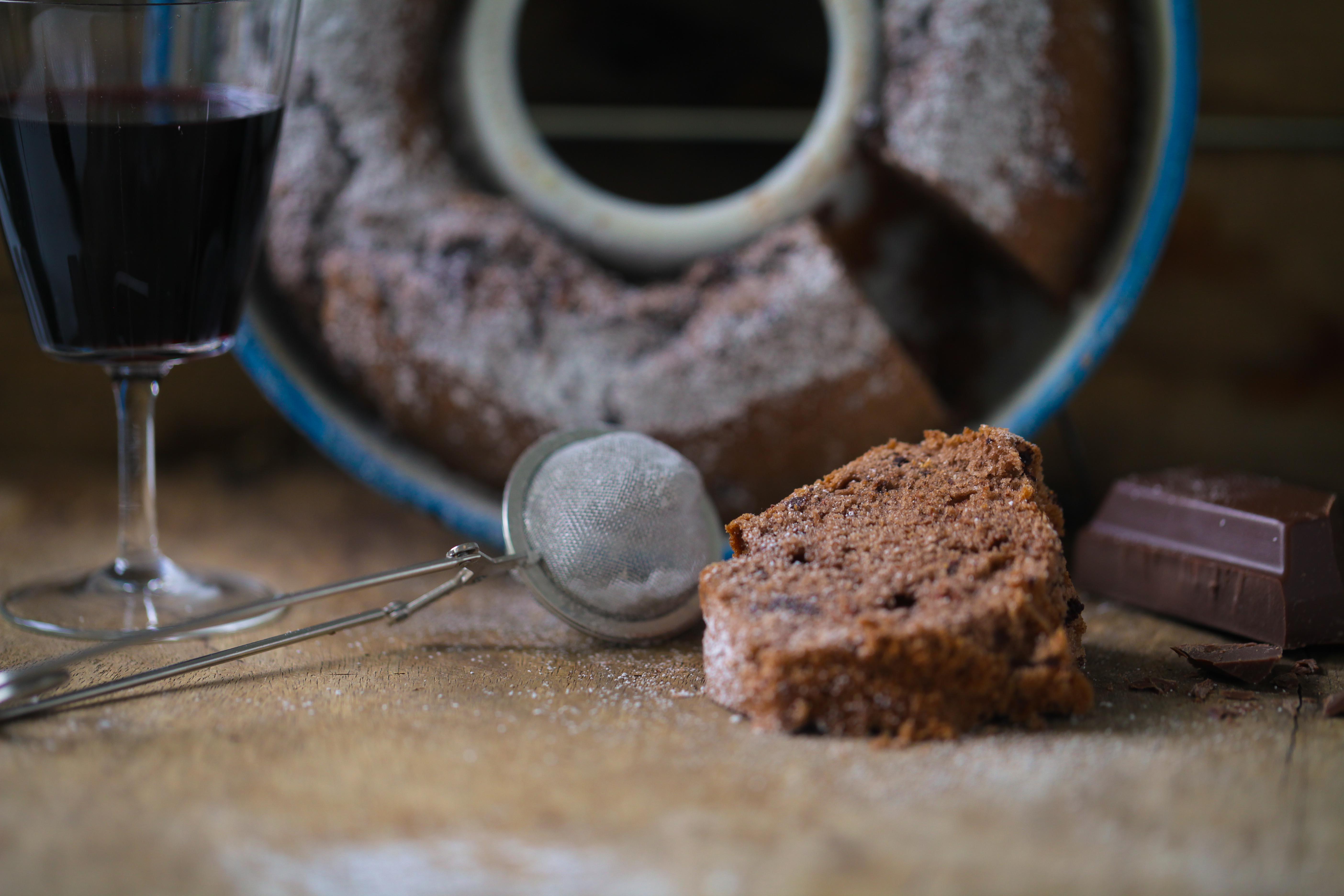 Zuckerzimtundliebe Rezept Backrezept Rotweinkuchen Schokoladenkuchen Napfkuchen Rührteig_-7