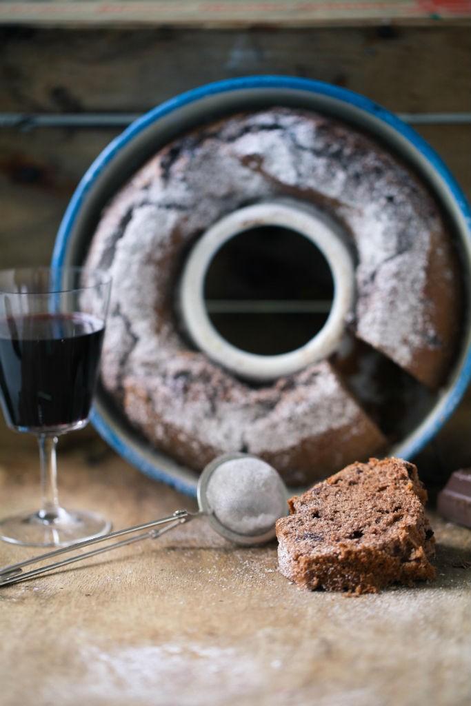 Zuckerzimtundliebe Rezept Backrezept Rotweinkuchen Schokoladenkuchen Napfkuchen Rührteig