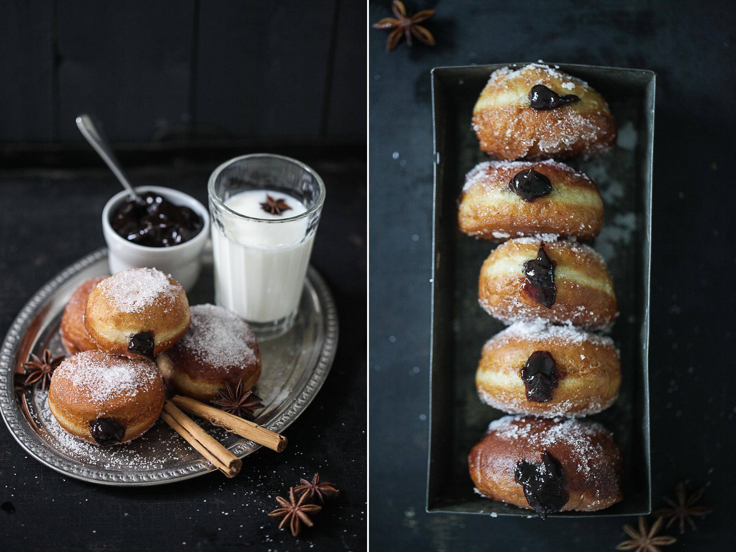 Rezept Berliner Spekulatiusberliner Adventsgebäck Weihnachtsbäckerei Zuckerzimtundliebe Spekulaas Speculaas Donuts