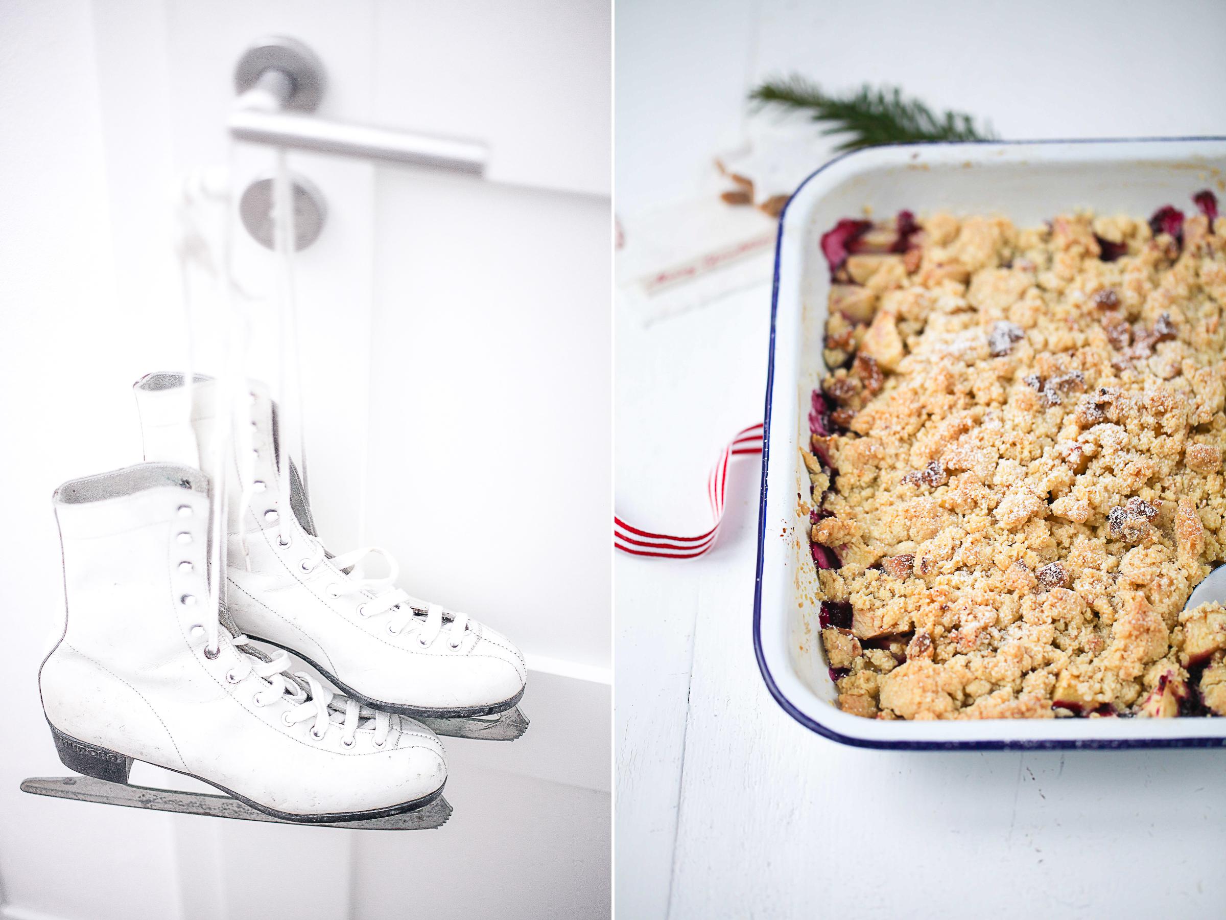 Zuckerzimtundliebe Crumble Zimtsternstreusel Apple Crisp Rezept recipe