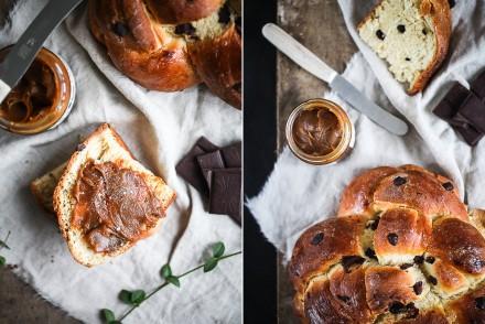 Rezept Schokoladenbrioche Hefezopf Hefeknoten Zuckerzimtundliebe Foodstyling Recipe