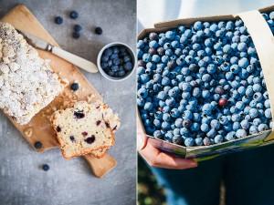 Wilde Blaubeeren Kanada Wild blueberries of Canada Zuckerzimtundliebe kulinarische Reise Blaubeer Bananenbrot mit Streuseln Backrezept