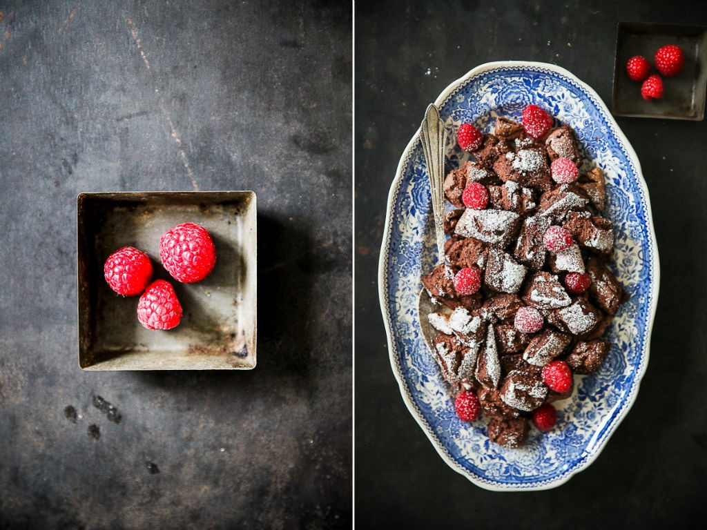Kakao Kaiserschmarrn Kakaoschmarrn Schmarrnrezept Pulled Pancake mit Himbeeren Frühstück Frühstücksglück Zuckerzimtundliebe Österreich Mehlspeise Schokoladenkaiserschmarrn Raspberries Breakfast recipe