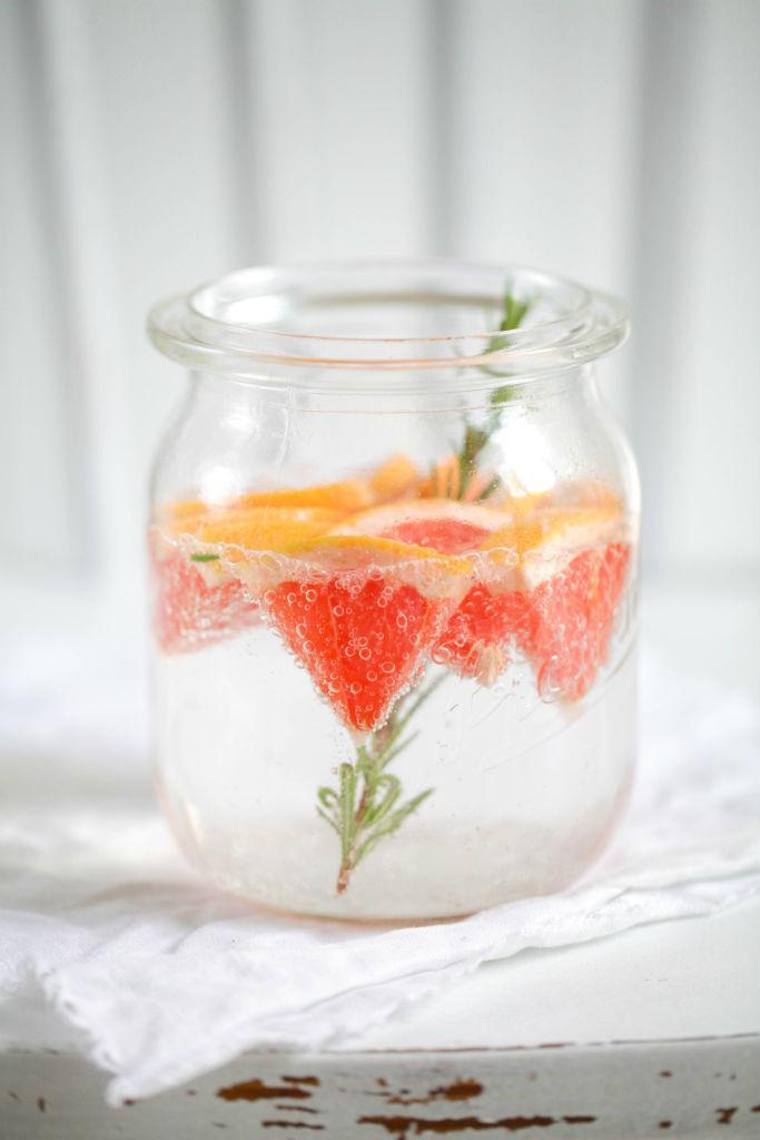 Rozmaring és grapefruit