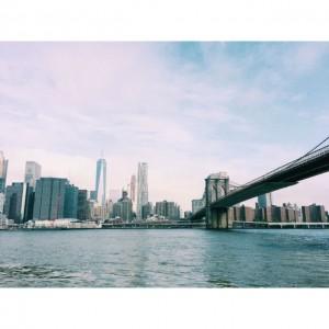 Brooklyn Bridge Manhattan Bridge schöne Cafes Brooklyn Dumbo Zuckerzimtundliebe Sweetonstreets Bahlsen