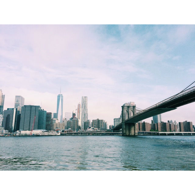 Brooklyn Bridge Manhattan Bridge schöne Cafes Brooklyn Dumbo Zuckerzimtundliebe Sweetonstreets Bahlsen