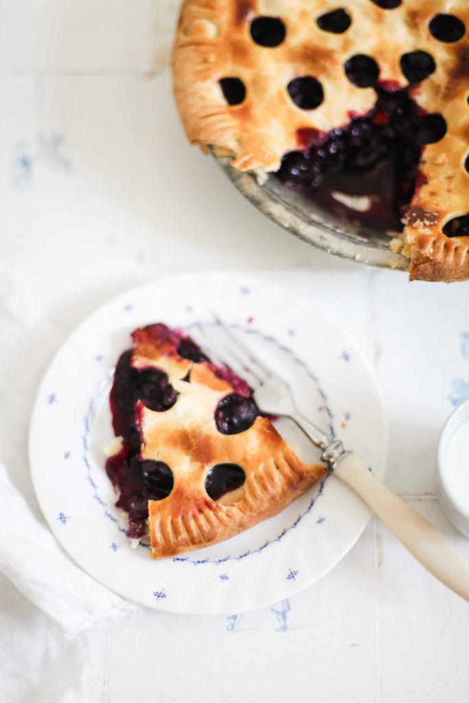 rezept f r blueberry pie blaubeeren die sich im sommerlichen m rbeteig himmel befinden. Black Bedroom Furniture Sets. Home Design Ideas