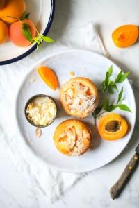 Kokos Aprikosen Friands Muffins-10