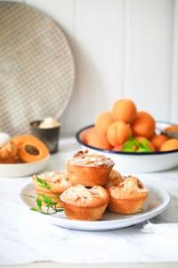Kokos Aprikosen Friands Muffins-8