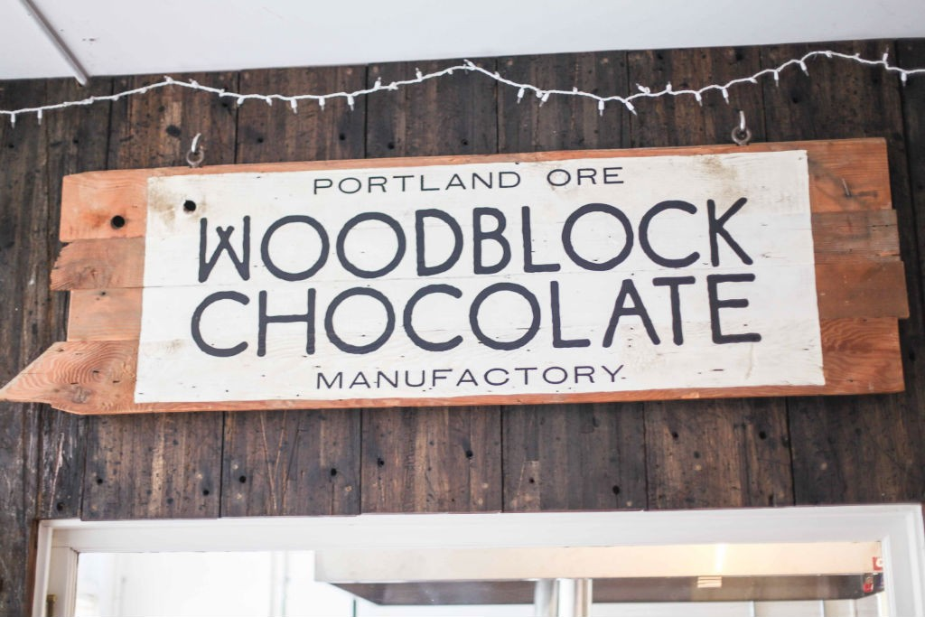 Portland Oregon Woodblock Chocolate Manufacturer Bean to Bar