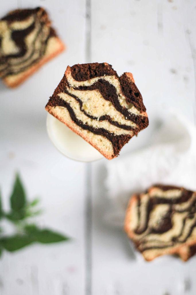 Rezept Marmorkuchen Mit Pflaumenmus Zucker Zimt Und Liebe