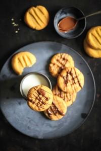 Erdnussbutter Cookies-3
