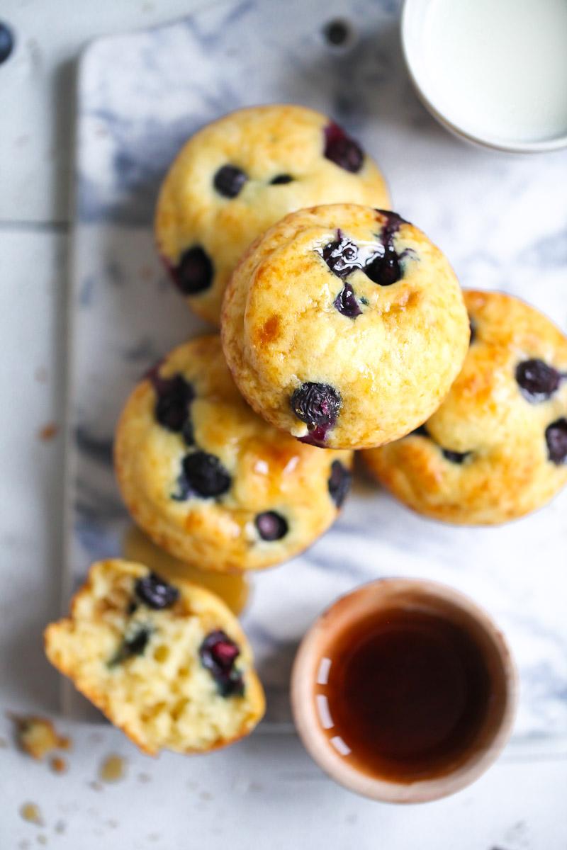 pancake muffins mit blaubeeren zucker zimt und liebe. Black Bedroom Furniture Sets. Home Design Ideas