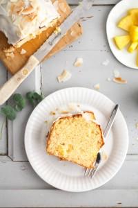 Ananas Kastenkuchen Rührteig Rezept einfacher Kuchen Kastenform Backrezept Kuchen backen Zuckerzimtundliebe Foodblog Backblog pineapple cake recipe