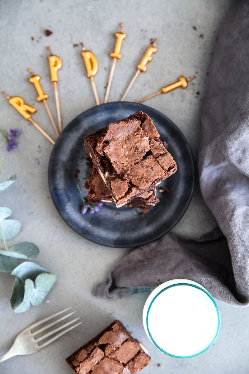 Beste Brownies Mit Kinderriegel Zucker Zimt Und Liebe