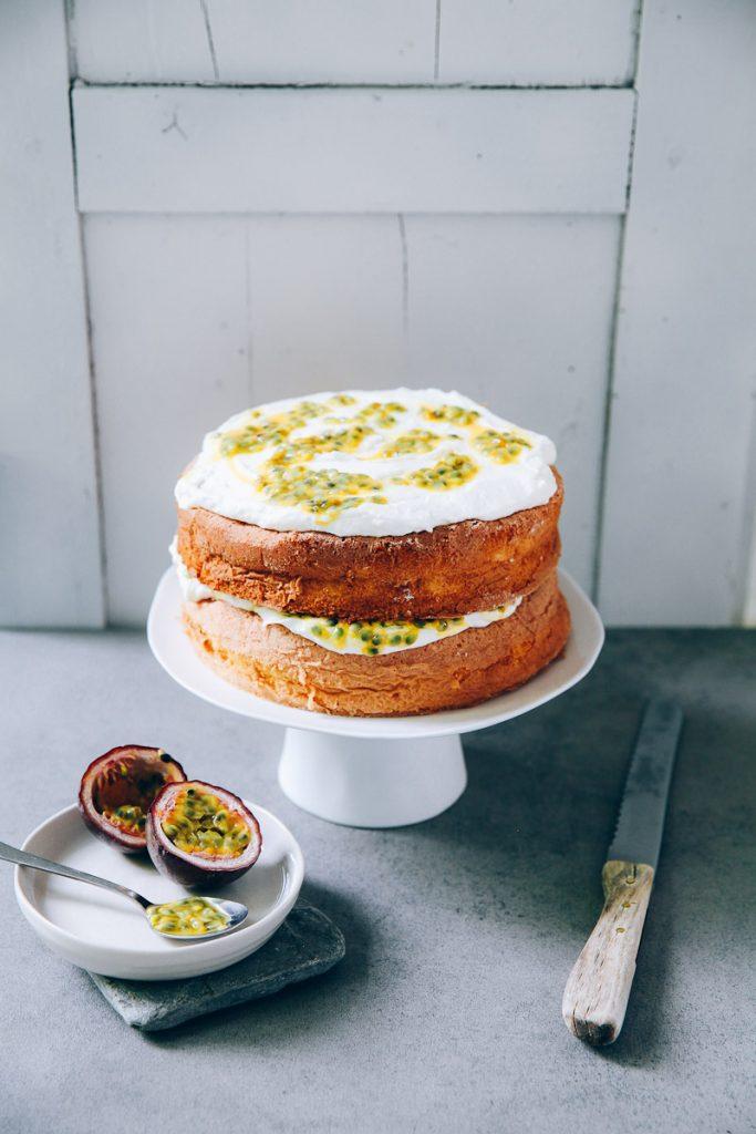 Sponge Cake Mit Maracuja Suedaustralien | Zucker, Zimt Und Liebe
