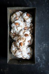 Amarettini Cookies Rezept Siemens Home almond cookies Backrezept zuckerzimtundliebe einfach Backrezept Keksrezept easy coffee cookies