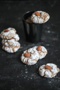 Amarettini Cookies Rezept Siemens Home almond cookies Backrezept zuckerzimtundliebe einfach Backrezept Keksrezept easy coffee cookies
