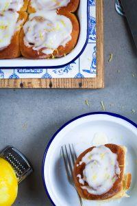 Zitronen Hefeschnecken-17