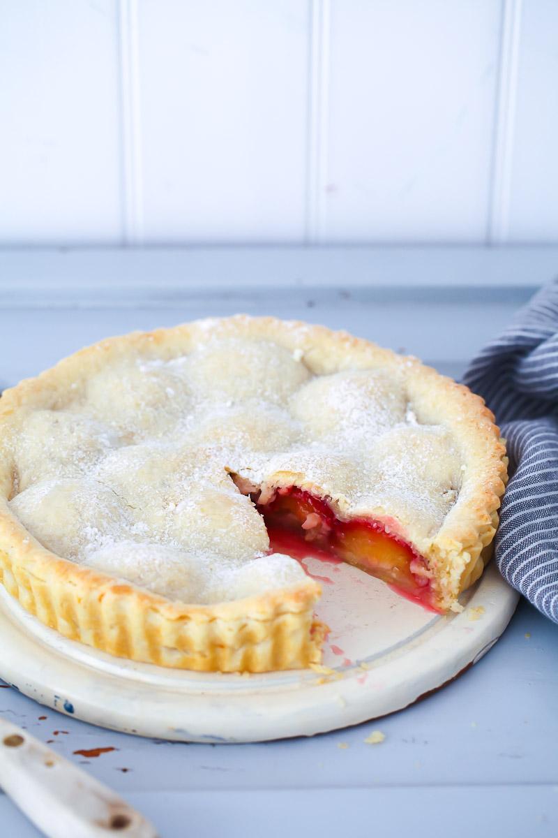 Pflaumen Pie Rezept Plum Pie Zucker Zimt Und Liebe