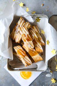 Chivers Marmeladen Weihnachtskekse mit Chivers Orangenmarmelade und Zuckerglasur Chivers Orange Jam Jam cookies thumbprint cookies zuckerzimtundliebe weihanchsbäckerei backen an weihnachten einfache kekse mandelpätzchen