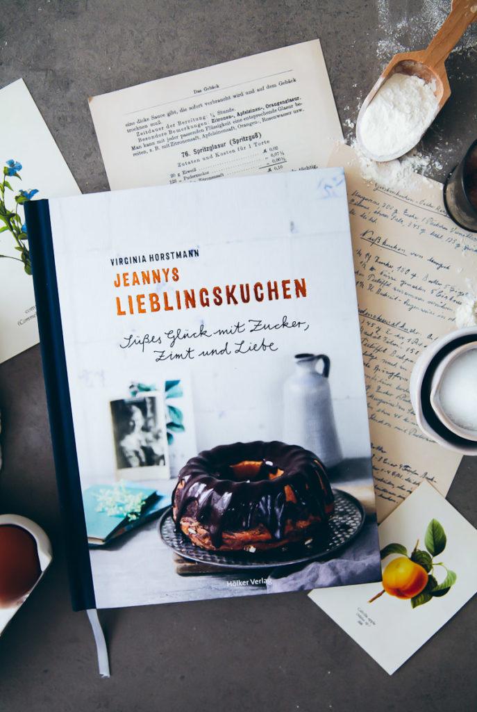 Backbuch Jeannys Lieblingskuchen Rührkuchen Rezepte bestes Backbuch kuchenbuch virginia horstmann hölker verlag