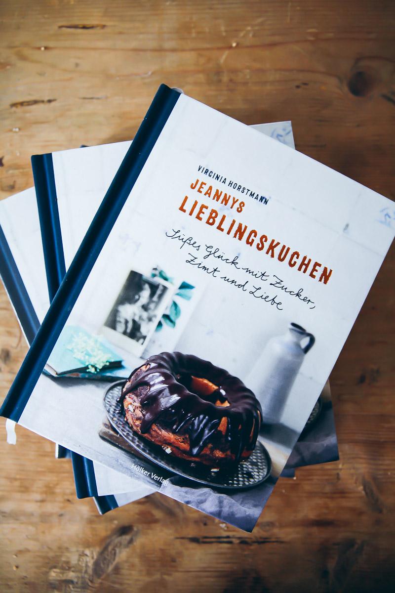Backbuch Jeannys Lieblingskuchen Rührkuchen Rezepte Bestes Backbuch  Kuchenbuch Virginia Horstmann Hölker Verlag ...