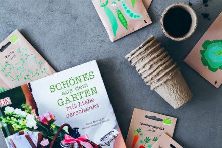 Gartenbuch Schönes aus dem Garten Clara Moring Buchvorstellung Gartengeschenke