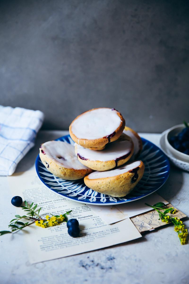 Vanille Amerikaner Muffins Glasur Zucker Zimt Und Liebe