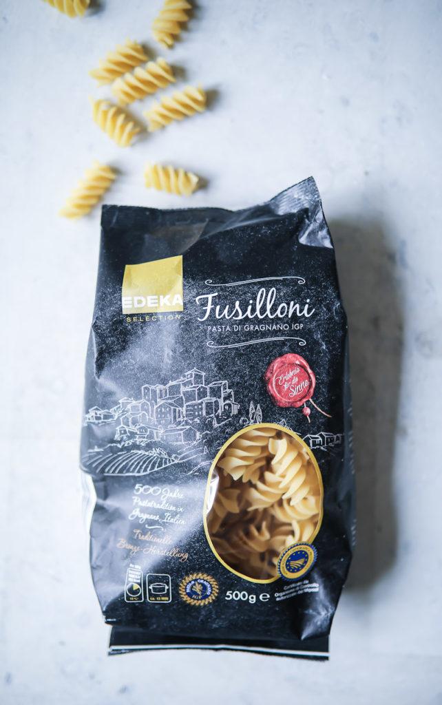 EDEKA Pasta Fusilloni Rezept Hackbällchen meatball pasta recipe