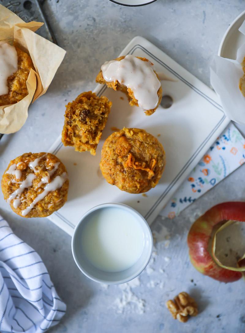apfel m hren muffins rezept zucker zimt und liebe. Black Bedroom Furniture Sets. Home Design Ideas