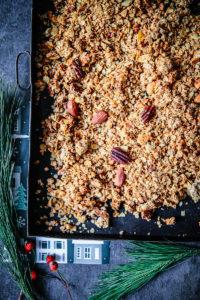 Lebkuchen – Granola – ein Rezept für Weihnachtsmüsli
