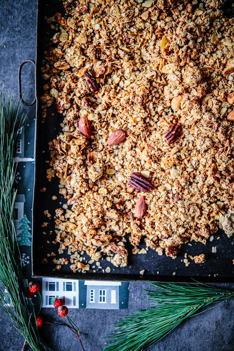 Weihnachts Nuss Granola Rezept   Zucker, Zimt und Liebe