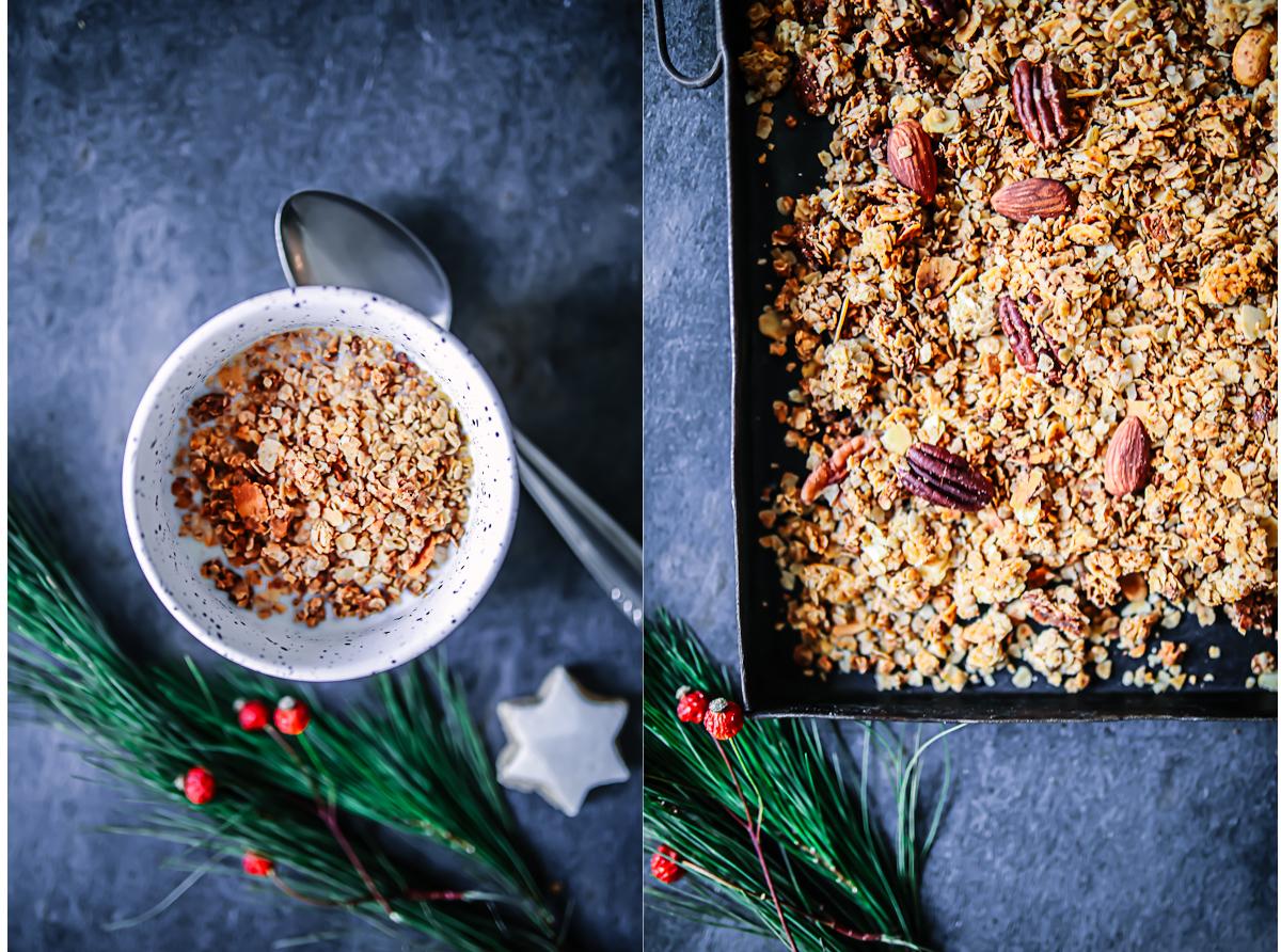 Weihnachts Nuss Granola Rezept | Zucker, Zimt und Liebe