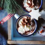 Heisse Schokolade Rezept Hot chocolate mit echter Schokolade weihnachten winter getränk soulfood hygge zuckerzimtundliebe foodblog backblog weihnachtsrezepte getränke winter