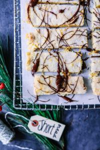 Ein Rezept für Schoko-Orangen-Shortbread und über den Tag, an dem ich Jamie Oliver traf