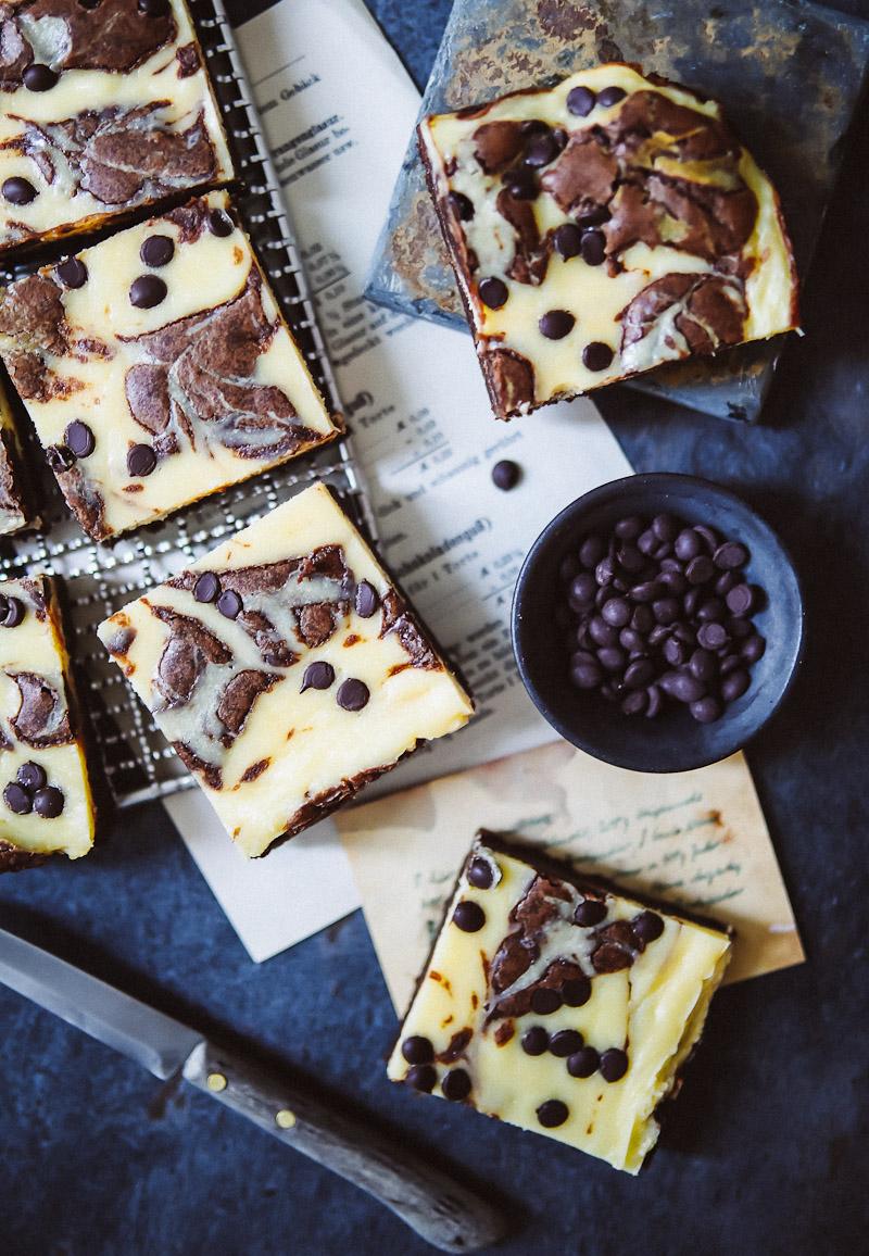 Bestes Cheesecake Brownies Rezept Zucker Zimt Und Liebe