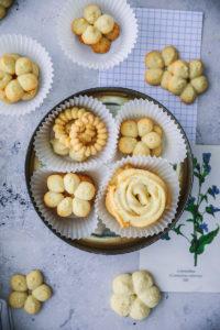 Ein einfaches Rezept für Dänische Butterkekse mit Vanille – danish butter cookies