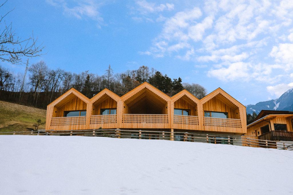 Niederthalerhof Ferienwohnung Chalet Brixen Sauna Südtirol Eisacktal Plose Skigebiet Unterkünfte Ferien auf dem Bauernhof