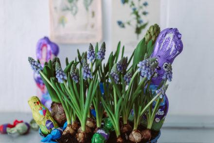 Osterkranz Diy ostern basteln easter wreath ostern milka schmunzelhase easy last minute diy easter wreath zuckerzimtundliebe