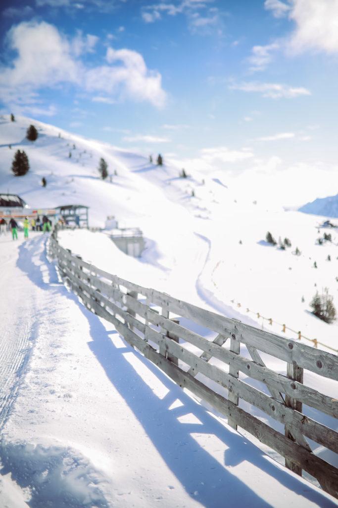 Südtirol Plose Skigebiet
