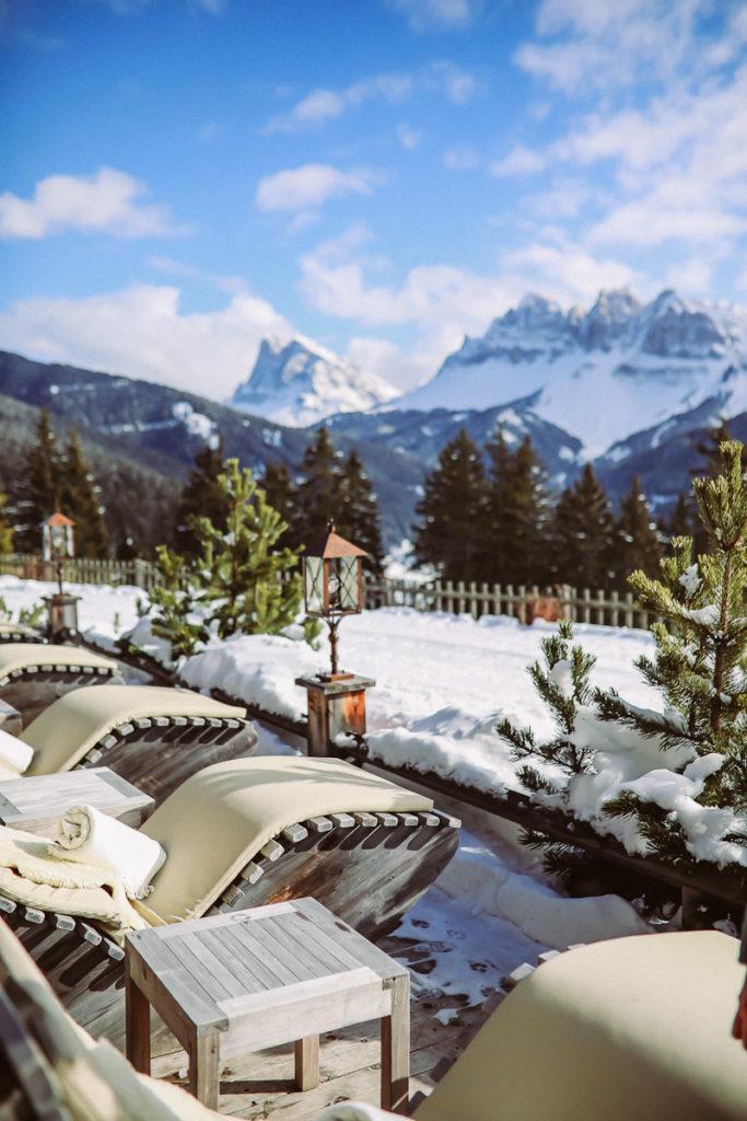 Rosalpin Dolomiti Brixen Plose Wellness hotel Ausblick Eisacktal Südtirol Hoteltipp